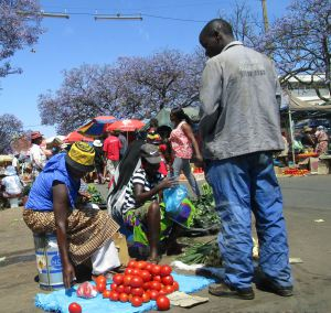 Bulawayo street