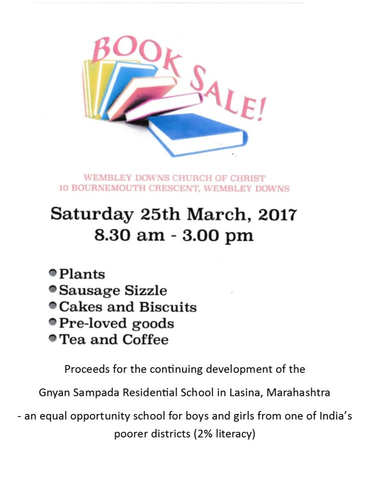 Book Sale for Web
